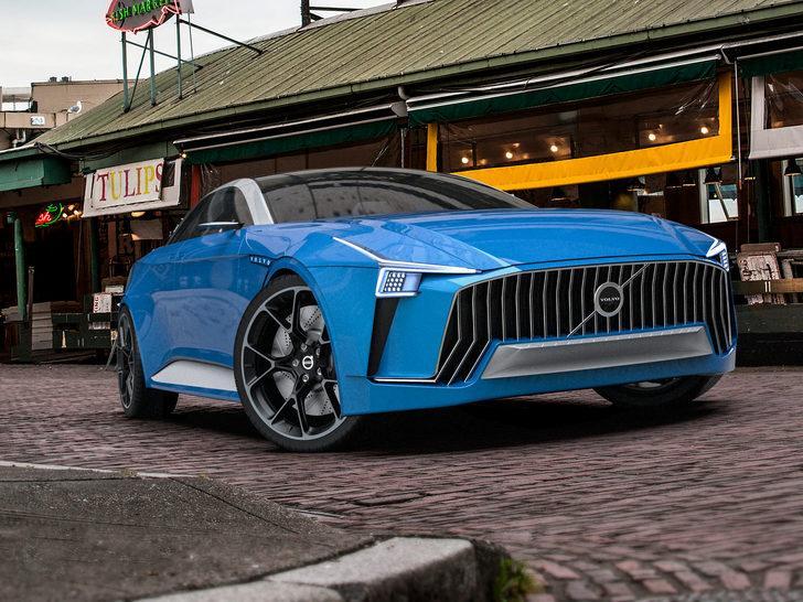 Volvo dört kapılı Coupe üretecek mi?