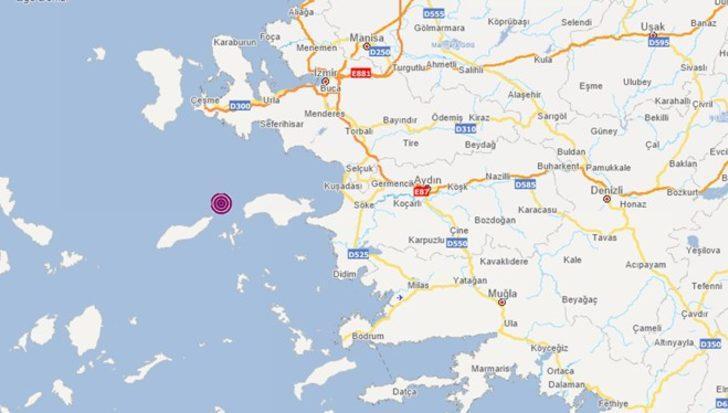 İzmir Urla açıklarında 4,4 büyüklüğünde deprem! AFAD ve Kandilli Rasathanesi duyurdu