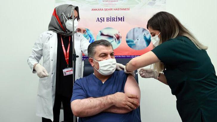 Bakan Koca'dan aşı açıklaması