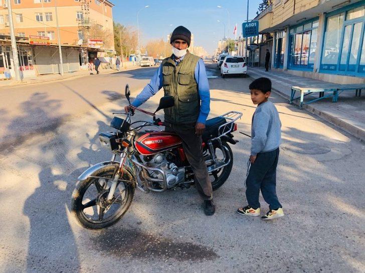 Polisin dikkati ile motosiklet hırsızı yakalandı