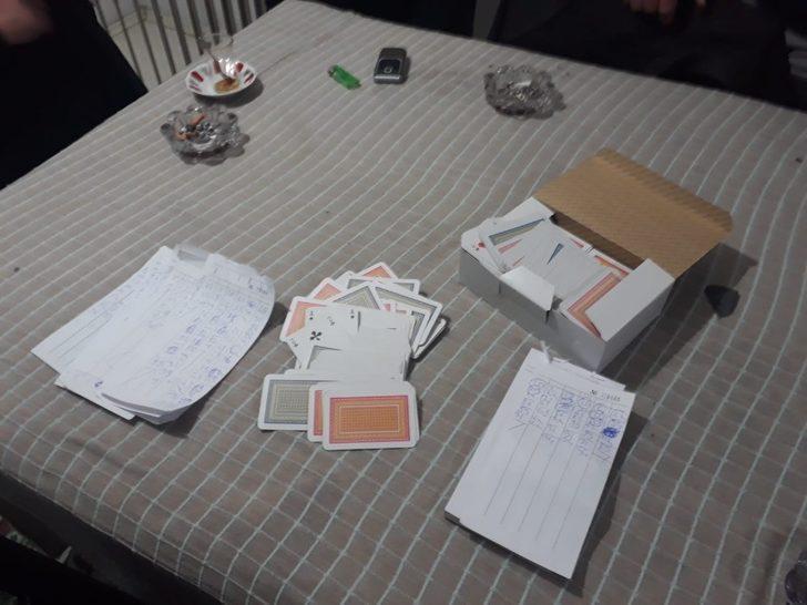 Samsun'da eve kumar baskını: 7 kişi suçüstü yakalandı