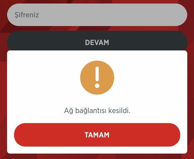 Ziraat Mobil uygulaması çöktü mü
