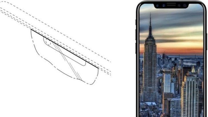 iPhone 8 benzeri ekran patenti aldı!