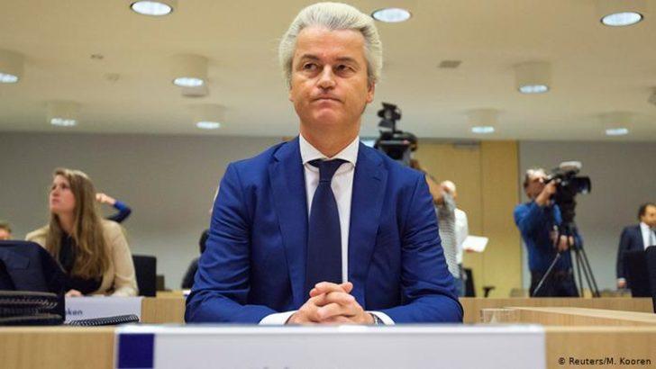 """Erdoğan'a """"terörist"""" diyen Wilders'e soruşturma"""