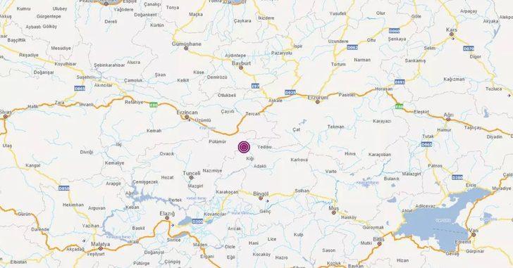 Son Dakika: AFAD duyurdu! Tunceli'de 4.1 büyüklüğünde deprem