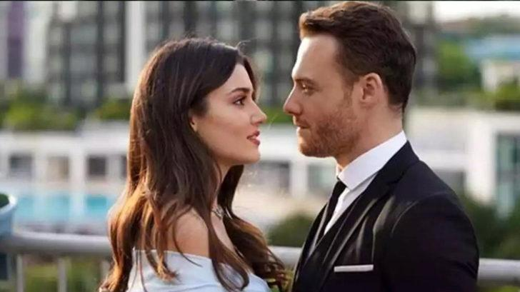Kerem Bürsin ve Hande Erçel yakayı ele verdi