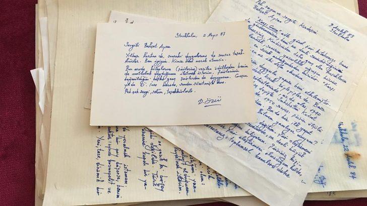 """Demir Özlü'nün 1984'te Behçet Aysan'a yazdığı mektup: """"Türk edebiyatının en büyük sorunu dünya akımlarıyla karşılaşmak ve hesaplaşmak"""""""