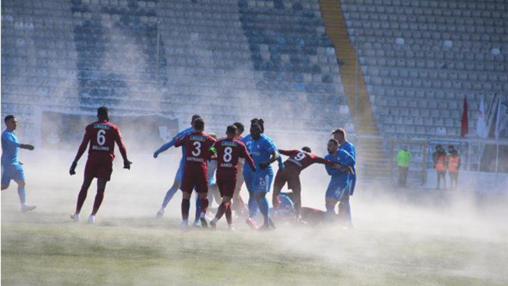 ÖZET   BB Erzurumspor - Hatayspor maç sonucu: 1-3