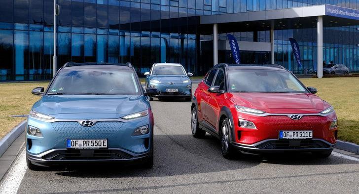 Hyundai, yangın riski nedeniyle Kore'deki tüm Kona elektrikli araçların pillerini değiştirebilir