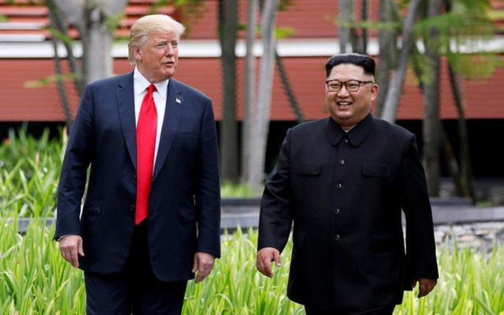 Trump, Kim'e 'gel seni uçakla eve bırakayım' demiş!