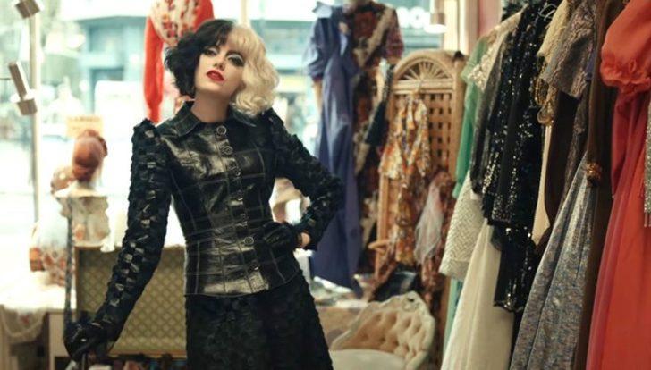 Emma Stone'lu Cruella'nın fragmanı yetti