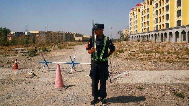 Çin, Uygurların yerleştirildiği kampların