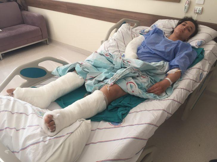 Tüyleri diken diken eden vahşet: Bacağımı ısırıp etimi kopardı, kemerle dövdü, boğazımı sıktı