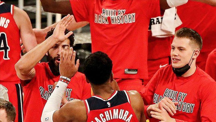 NBA'de Washington Wizards, galibiyet serisini 5 maça çıkardı