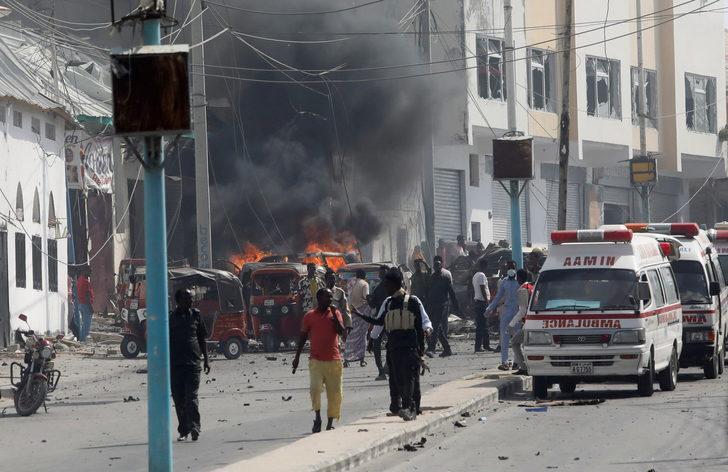 Son Dakika: Somali'nin başkenti Mogadişu'da büyük patlama!