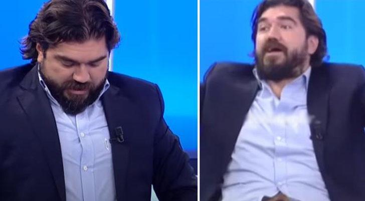 Canlı yayında Rasim Ozan Kütahyalı'nın gömleğinin düğmesi patladı
