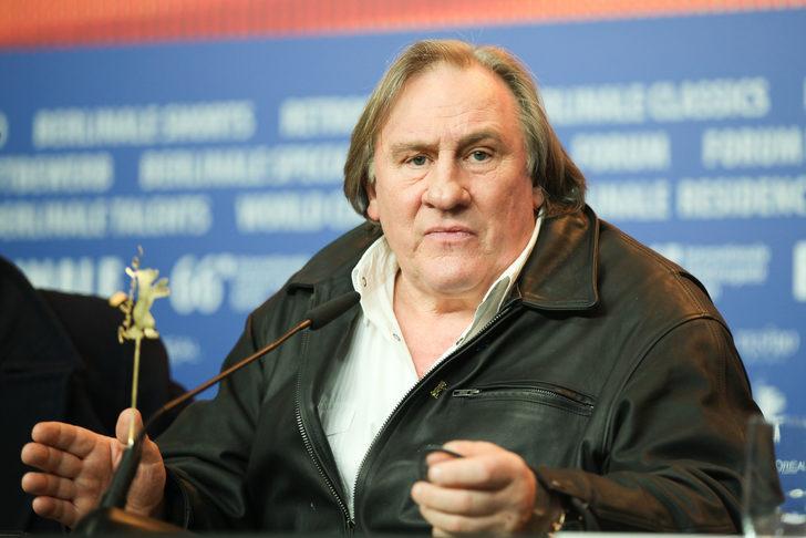 Ünlü aktör Gerard Depardieu'ye tecavüz suçlaması