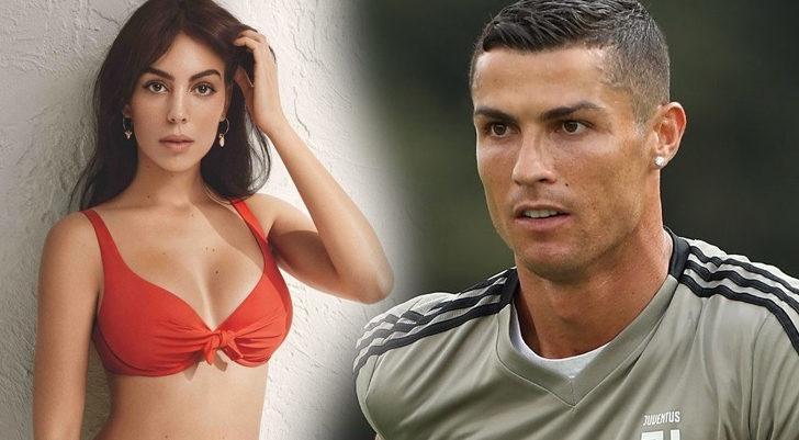 Cristiano Ronaldo'nun sevgilisi Georgina Rodriguez sınırları zorladı! Çıplak pozları Avrupa'yı salladı