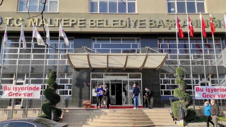 Maltepe Belediyesi'nden grev ile ilgili açıklama