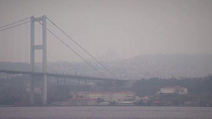 İstanbul'un havası alarm veriyor: Bazı ilçelerde kirlilik, sarıdan turuncu renge döndü