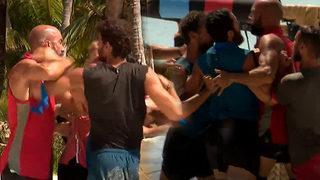 Survivor'da büyük kavga! Ortalık karışıyor