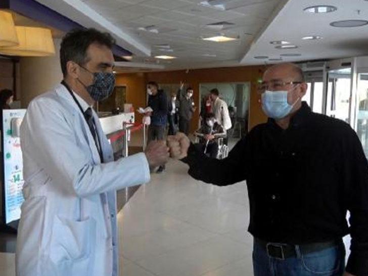 Hayatını koronavirüse borçlu: Bir mucize yaşıyorum