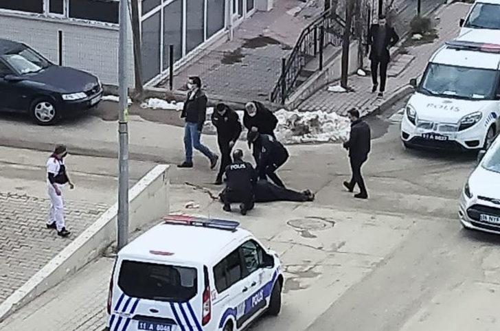 Bilecik'te korkunç olay! Sokak ortasında vuruldu