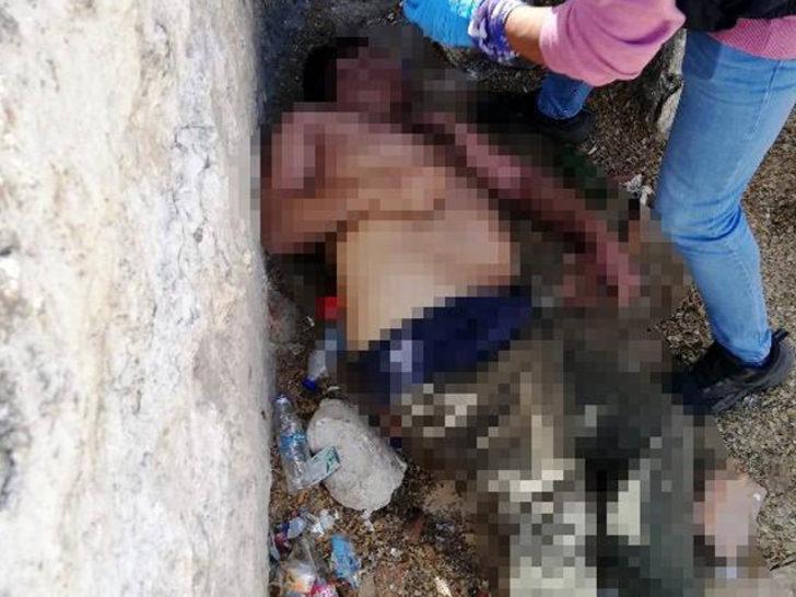 Kuyuda erkek cesedi bulundu! Polis ekipleri sevk edildi