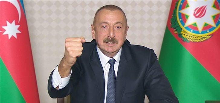 Son Dakika: Aliyev'den çok önemli açıklama!
