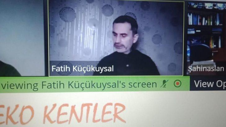İnönü'de çevrim için seminerler devam ediyor