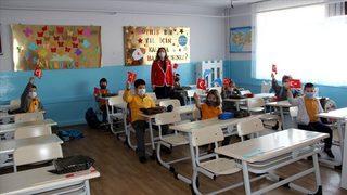 İlçedeki tüm okullarda eğitim başlıyor