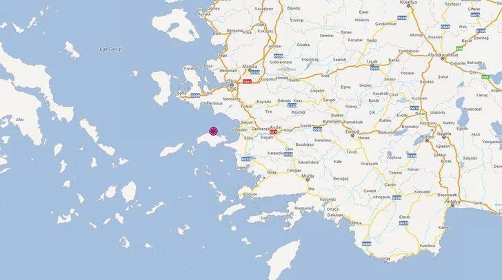 Son Dakika: AFAD duyurdu! İzmir'de 3.5 büyüklüğünde deprem
