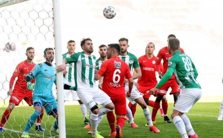 ÖZET | Konyaspor-Gaziantep FK maç sonucu: 0-0