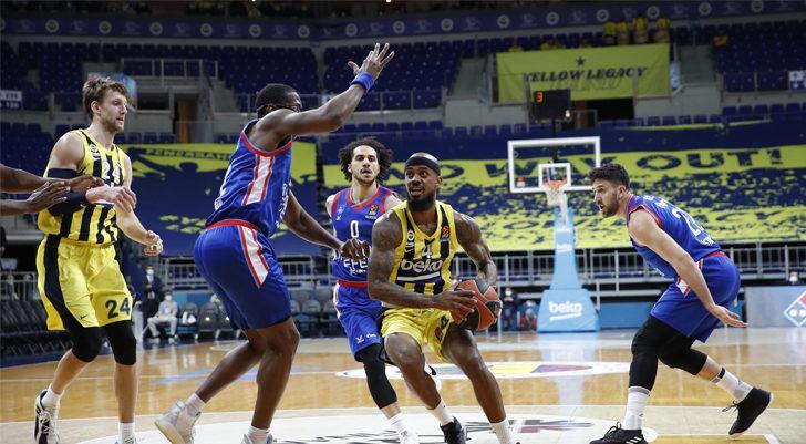 Anadolu Efes, Fenerbahçe Beko'yu 106-74'lük skorla mağlup etti!