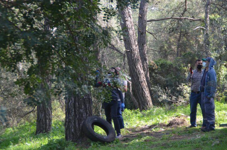 Kendini ağaca iple astı, son anda kurtarıldı