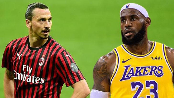 Lebron'dan Ibrahimovic'e yanıt: Yanlış adamı hedef alıyorsun