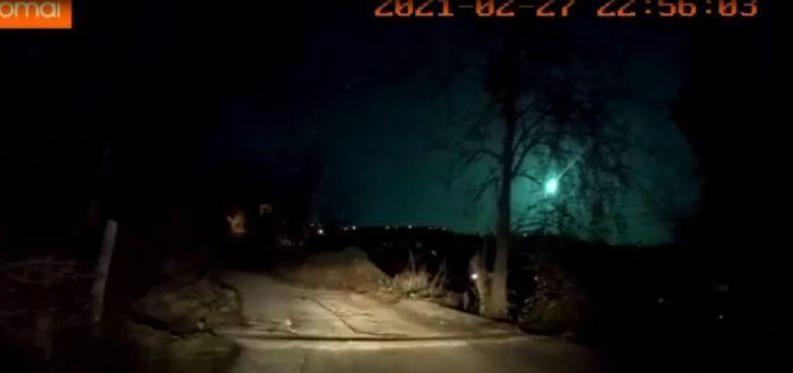 Doğu Karadeniz'de meteor şaşkınlığı! Geceyi gündüze çevirdi