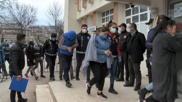 Ordu'da 12 kişi fuhuş operasyonunda yakalandı