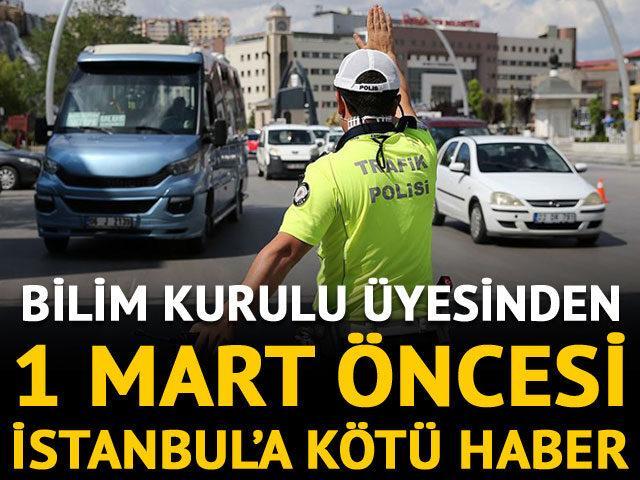 Normalleşme öncesi İstanbul için kötü haber