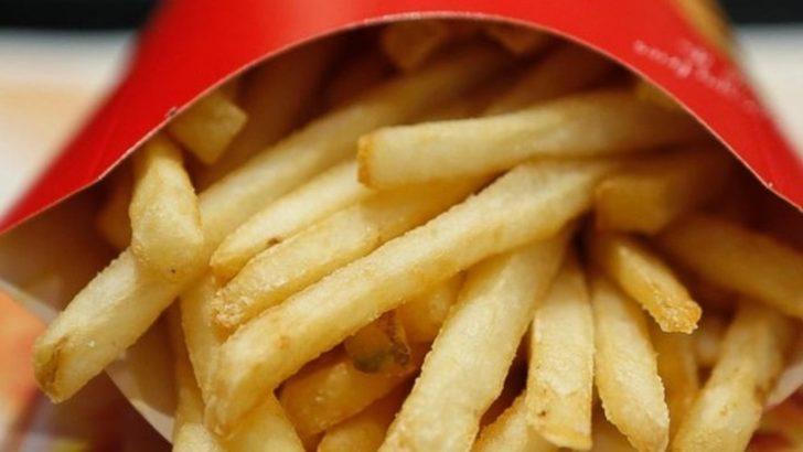Ünlü fast food zinciriyle ilgili skandal 'patates' iddiası
