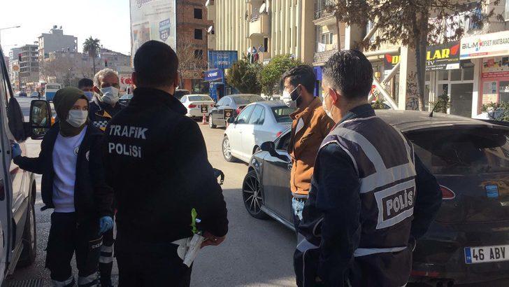 Karantinayı ihlal eden covid-19 hastası polislere yakalandı!