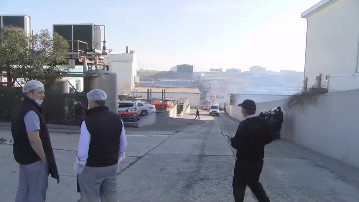 Son Dakika: Arnavutköy'de fabrikada patlama