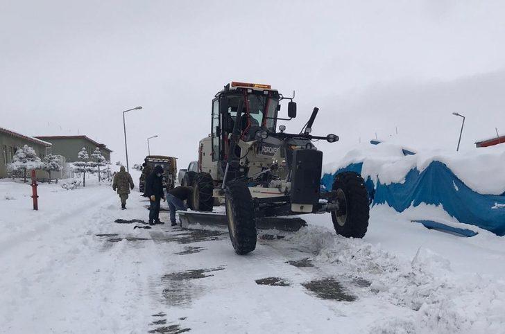 Iğdır'da 27 köy yolu ulaşıma kapandı