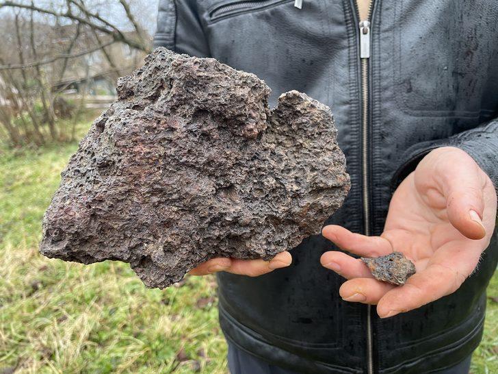 Türkiye bu 'meteor'u konuşmuştu: Gökyüzündeki parlama sonrası gök taşı bulduğunu iddia etti