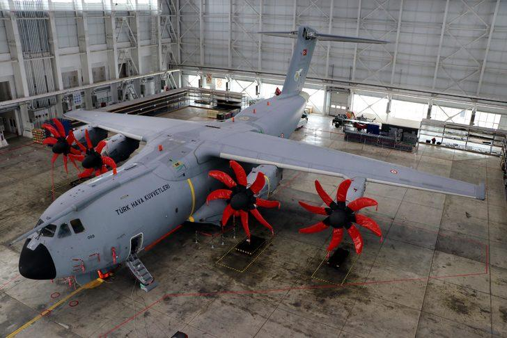 Her biri Türkiye'de üretildi! İşte Türk mühendislerin tasarladığı A400M uçakları