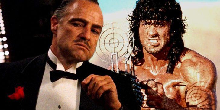 İnternetteki mektupla ortaya çıktı: Baba'nın Marlon Brando'su Sylvester Stallone'lu Rambo'da...