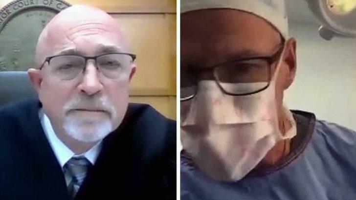 Duruşmaya hastasını ameliyat ederken katılan plastik cerrah hakkında soruşturma başlatıldı