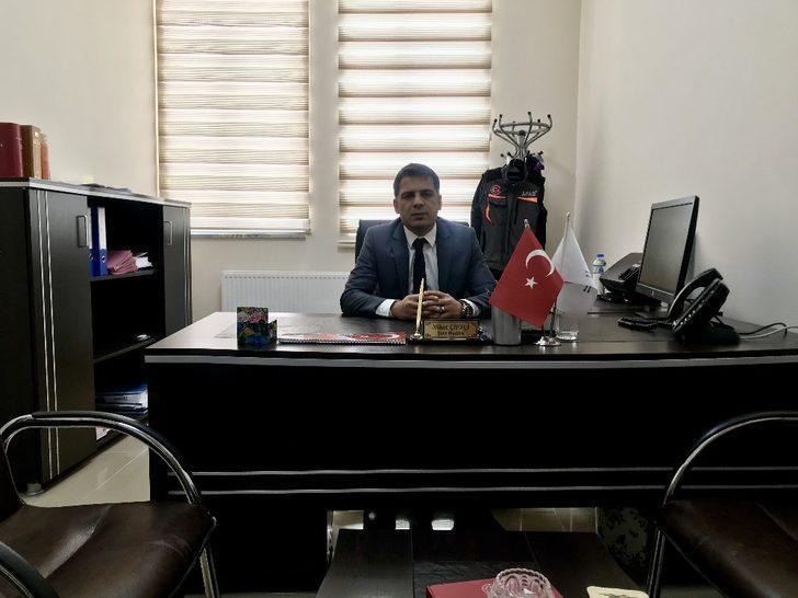 Ağrı Türk İmar-Sen Başkanı Çiftçi oldu