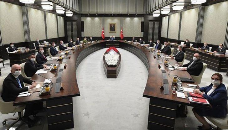 Son Dakika: Kabine toplantısı sona erdi