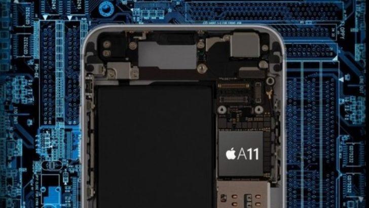 iPhone X'te 6 çekirdekli işlemci kullanıyor